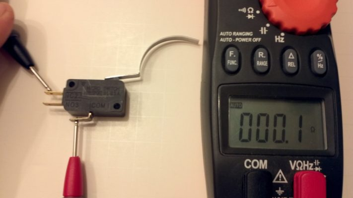 Micro Switch Resistance Test Image