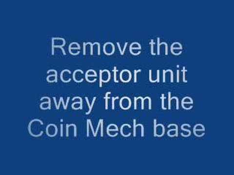 How to Correct a coin Jam in Mars 690 mech